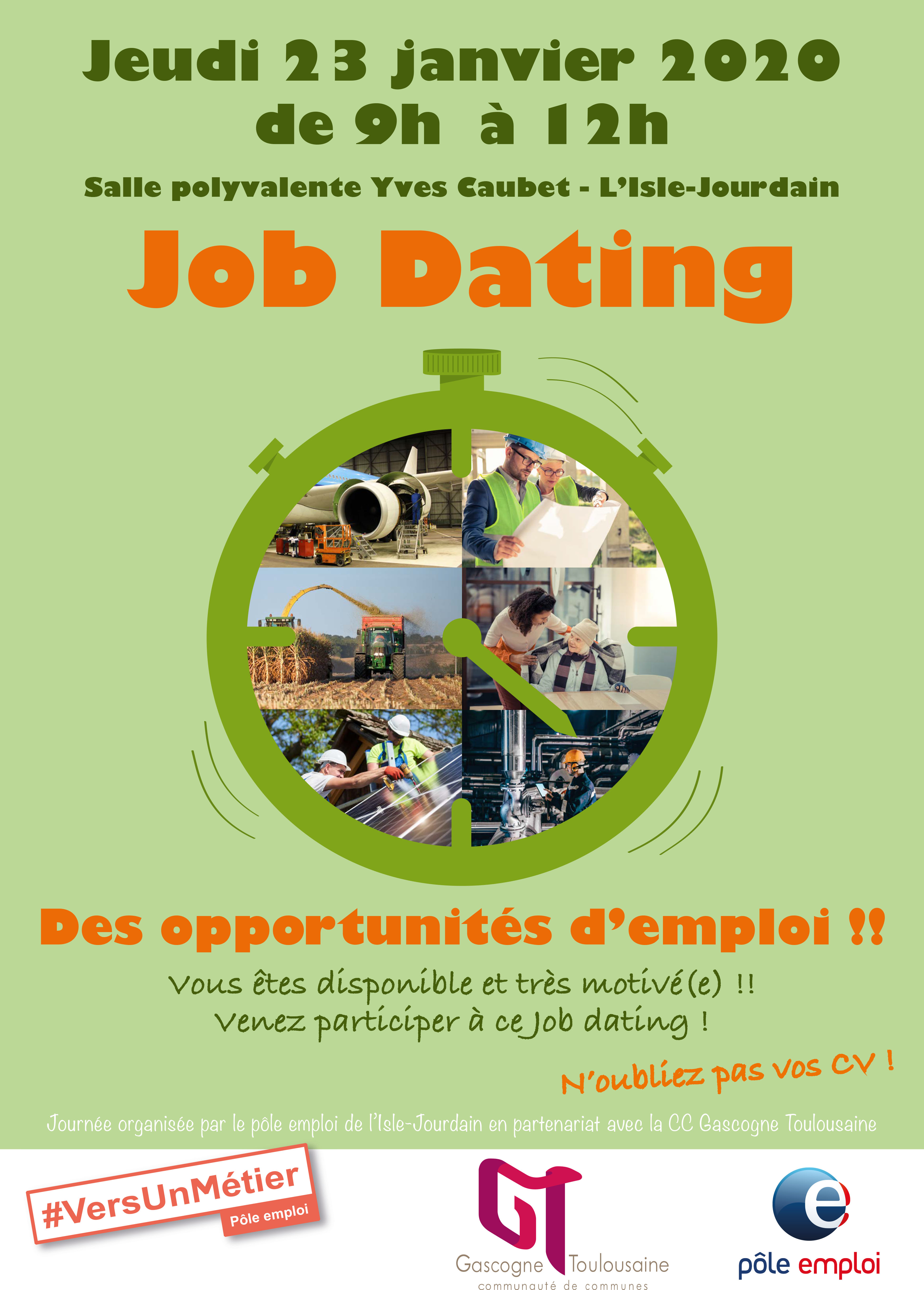 job dating l'isle jourdain